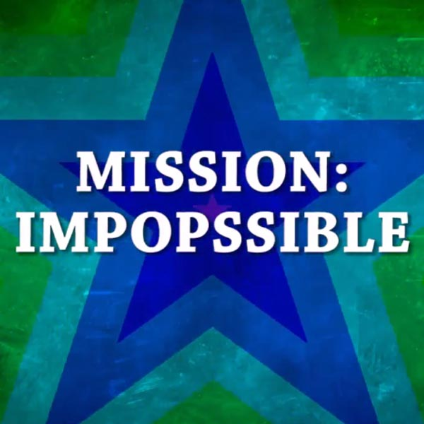 "POP HIGHLIGHT ""MISSION IMPOPSIBLE"""